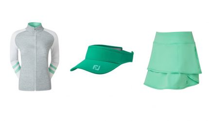 New range of colourful Ladies Golf Clothing