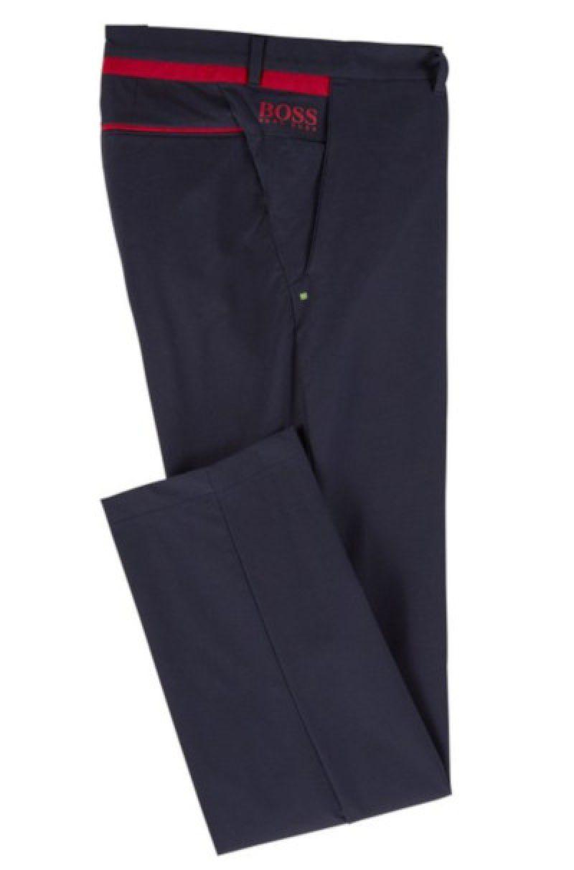 2061c96e9 BOSS Hugo Boss Hapron 3 Slim Fit Trouser in Dark Blue #50403480 ...