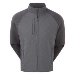 FootJoy Fleece Quilted Jacket - Charcoal category image