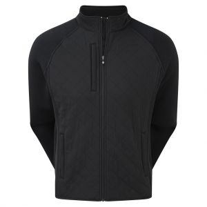 FootJoy Fleece Quilted Jacket - Black category image