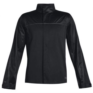 Under Armour Mens Storm Rain Jacket in Black 1344085 category image