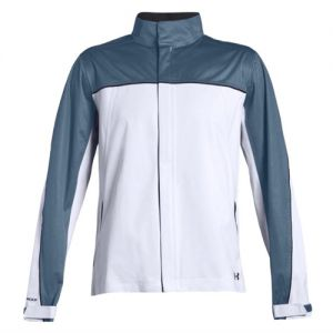 Under Armour Mens Storm Rain Jacket in White 1344085 category image