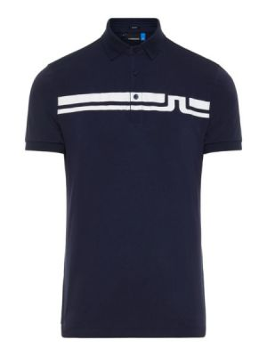 J.Lindeberg M Eddy Slim Fit Jersey Polo Shirt in Navy #92MG539625610 category image