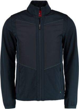 f5616edfb BOSS Hugo Boss Jalmstad Pro 2 Water-repellent jacket with detachable  down-filled panel in Navy #50403412