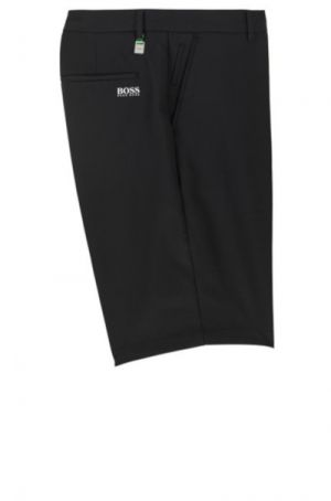 BOSS Hugo Boss Hayler 8-1 Woven Bermuda Short, Regular Fit in Black #50371191 category image