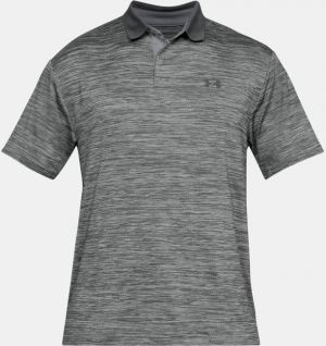 Under Armour Mens Textured Performance Polo in Grey #1342080 category image