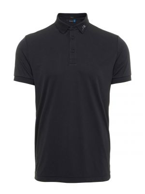 J.Lindeberg KV TX Jersey Polo Shirt In Black  category image