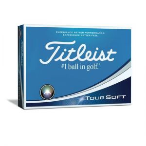 Titleist Tour Soft in Yellow - Dozen category image
