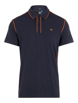 J.Lindeberg Tomi Regular Fit Lux Piqeut Polo Shirt in Navy #GMJT00360 category image