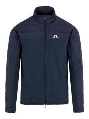J.Lindeberg Winter Hybrid Lux Softs Jacket in Navy #GMOW00436 category image