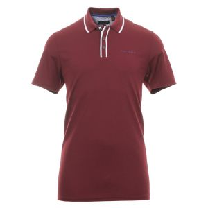 Ted Baker Bunka Solid Polo Shirt in Dark Red #160440 category image