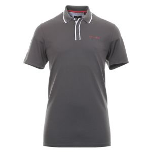 Ted Baker Bunka Solid Polo Shirt in Charcoal #160440 category image