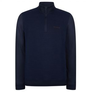Ted Baker Pitchin Funnel Neck Pullover in Navy #1595856 category image