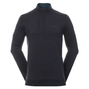 Ted Baker Newcomp LS Half Zip in Navy #160097 category image