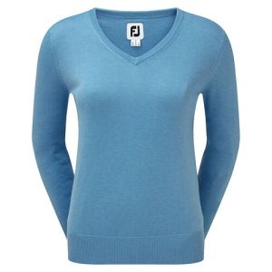 Ladies FootJoy Wool Blend V-Neck Pullover Women category image