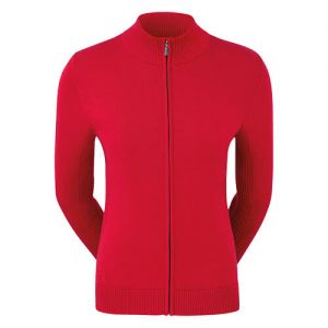 Ladies FootJoy Full-ZIp Lined Wool Pullover category image