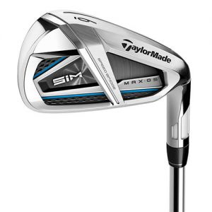 Ladies Taylormade SIM MAX OS Irons Graphite  category image