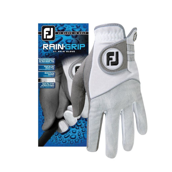 FootJoy Rain Grip Mens Golf Gloves