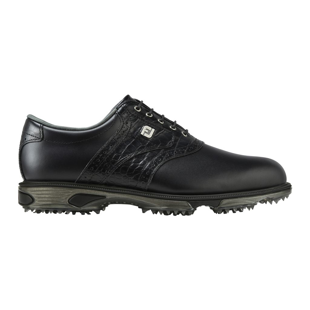 FootJoy DryJoys Tour Mens Golf Shoes in Black