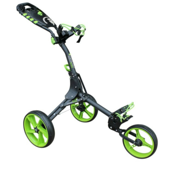 Masters iCart Compact Evo Push Trolley in Grey/Green