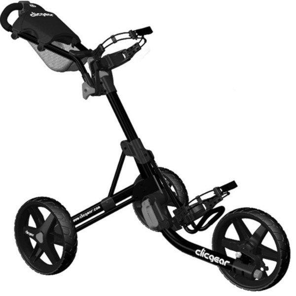 CLICGEAR MODEL 3.5+ GOLF PUSH CART in Black-Other colours available