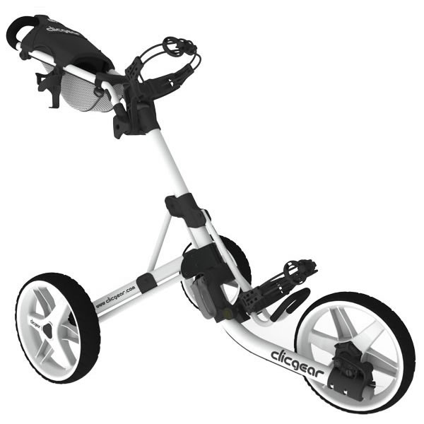 CLICGEAR MODEL 3.5+ GOLF PUSH CART in White-Other colours available