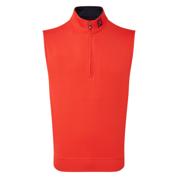 FootJoy Mens Chill-Out Vest in Scarlet #90080