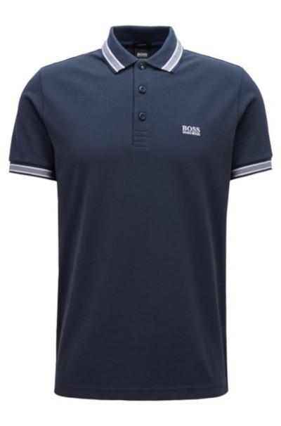 boss hugo boss paddy polo shirt in navy 50198254 polo shirts golf inc