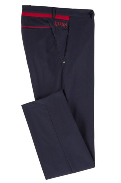 BOSS Hugo Boss Hapron 3 Slim Fit Trouser in Dark Blue #50403480